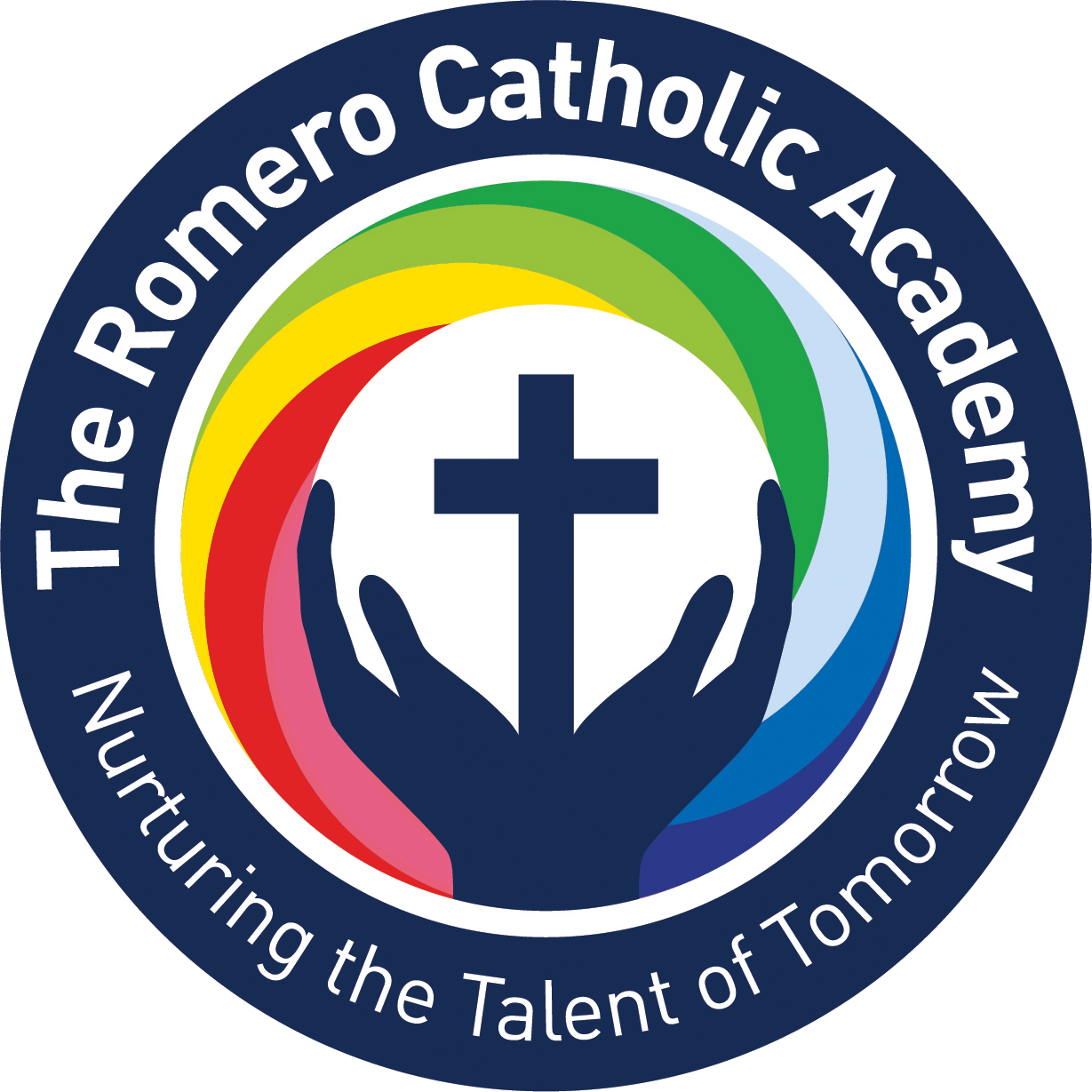 Romero Logo Roundel Upper And Lower Case Outline on archbishop oscar romero
